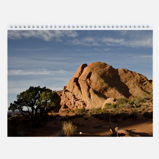 Big Skys And Rocks Wall Calendar
