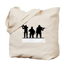 Army Soldiers Tote Bag