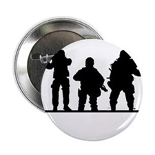 """Army Soldiers 2.25"""" Button"""