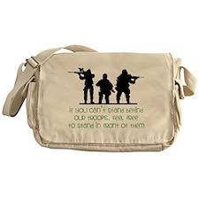 Our Troops Messenger Bag