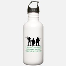 Our Troops Water Bottle