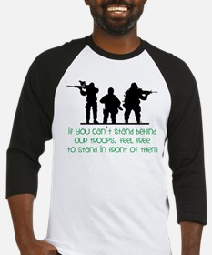 Our Troops Baseball Jersey