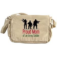 Proud Mom Messenger Bag