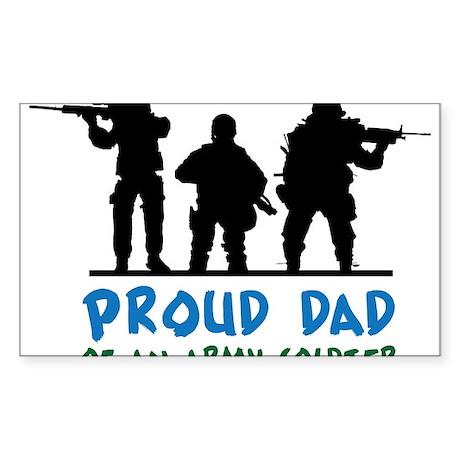 Proud Dad Sticker (Rectangle)
