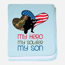 My Hero baby blanket