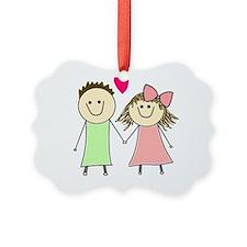 Unique Dating Picture Ornament