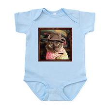 Cowboy Cat, pose 3 Infant Bodysuit