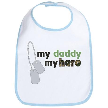 My Daddy My Hero Bib