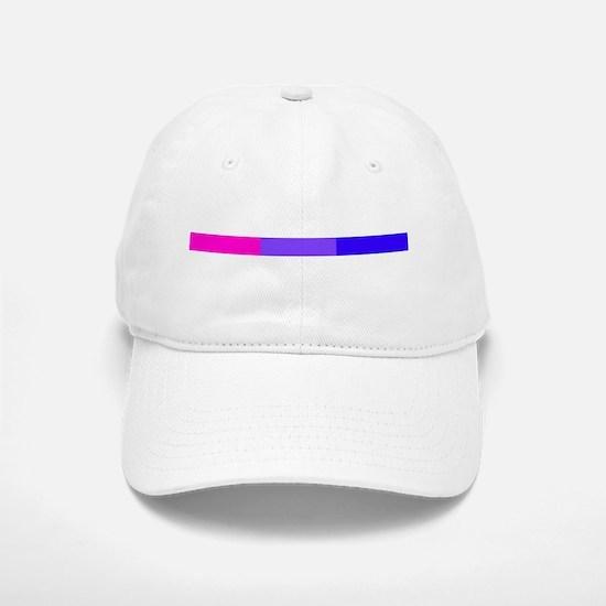 Bi Pride Horizontal Bar Baseball Baseball Cap