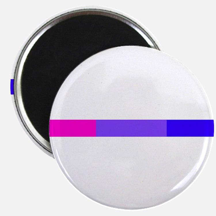 Bi Pride Horizontal Bar Magnet