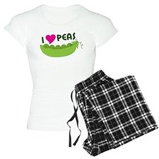 I Love Peas pajamas