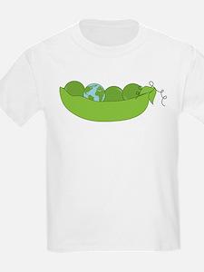 Green World Peas T-Shirt