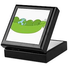 Green World Peas Keepsake Box