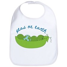 Peas On Earth Bib