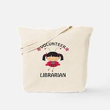 Volunteer Librarian Ladybug Tote Bag