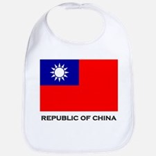 The Republic Of China Flag Stuff Bib