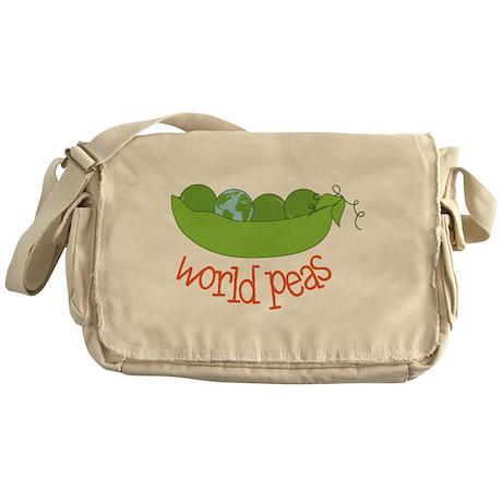 World Peas Messenger Bag