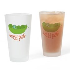 World Peas Drinking Glass