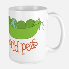 World Peas Ceramic Mugs