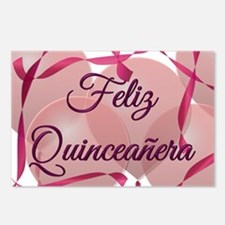 Feliz Quinceanera Birthday Postcards (Pkg of 8)