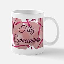 Feliz Quinceanera Small Small Mug