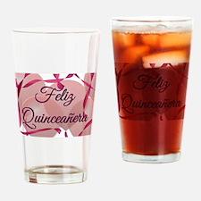 Feliz Quinceanera - Birthday Drinking Glass