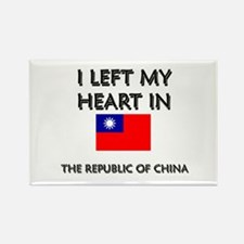 I Left My Heart In The Republic Of China Rectangle