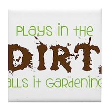 Dirty Dirt Tile Coaster