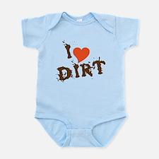I Love Dirt Infant Bodysuit