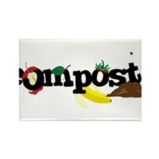 Compost Rectangle Magnet