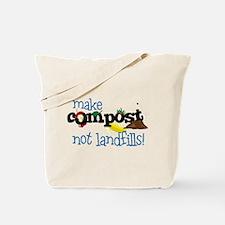 Make Compost Not Landfills Tote Bag