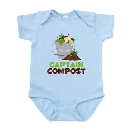 Captain Compost Infant Bodysuit
