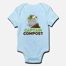 Captain Compost Infant Bodysuit