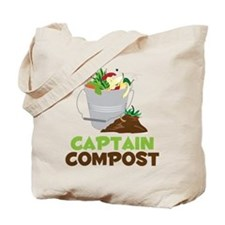 Captain Compost Tote Bag
