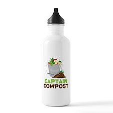 Captain Compost Water Bottle