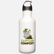 Captain Compost Water Bottle