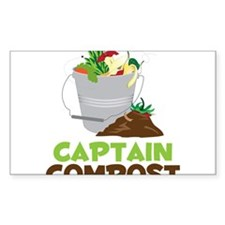 Captain Compost Bumper Stickers