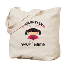 Personalized Volunteer Librarian Tote Bag
