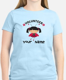 Personalized Volunteer Librarian T-Shirt