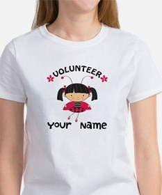 Personalized Volunteer Librarian Tee