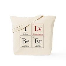 I Lv BeEr [Chemical Elements] Tote Bag