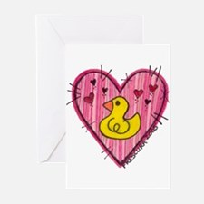 Ducky Love Greeting Cards (Pk of 10)