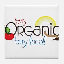 Buy Organic Tile Coaster