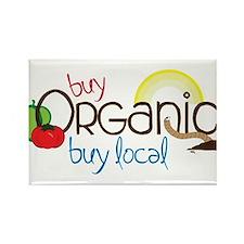 Buy Organic Rectangle Magnet