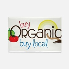 Buy Organic Rectangle Magnet