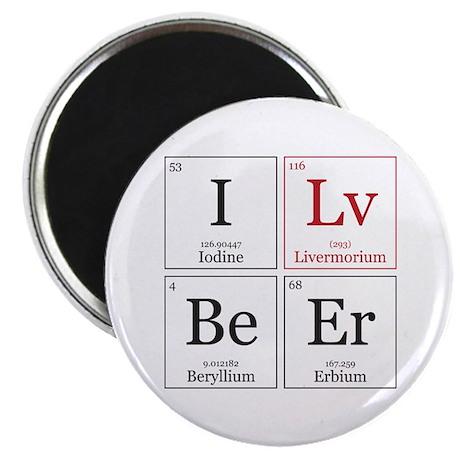 I Lv BeEr [Chemical Elements] Magnet