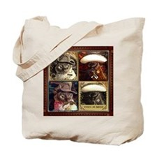 Cowboy/Caballero Cubed Tote Bag
