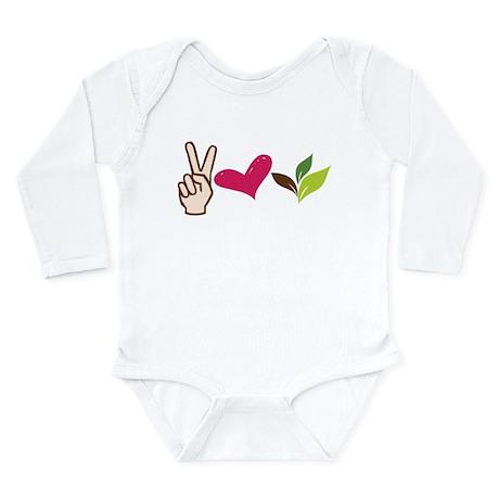 Be Green Long Sleeve Infant Bodysuit