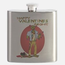 Zombie Valentines Day Flask