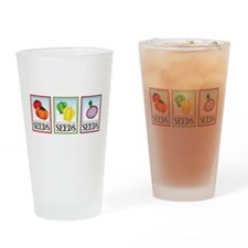 Seed Packets Drinking Glass
